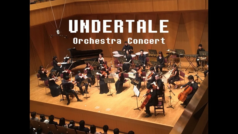 "UNDERTALE Orchestra Concert - ""Hopes and Dreams,"" ""SAVE the World,"" and ""His Theme."""