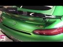 Зелёный демон Mercedes AMG GT R под защитой Ceramic Pro