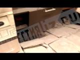 Обрушение плит в жилом доме