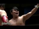 Isami Kodaka, Yoshihisa Uto vs. Masahiro Takanashi, Tatsuhiko Yoshino (DDT/BJW Toshikoshi Pro-Wrestling 2017)