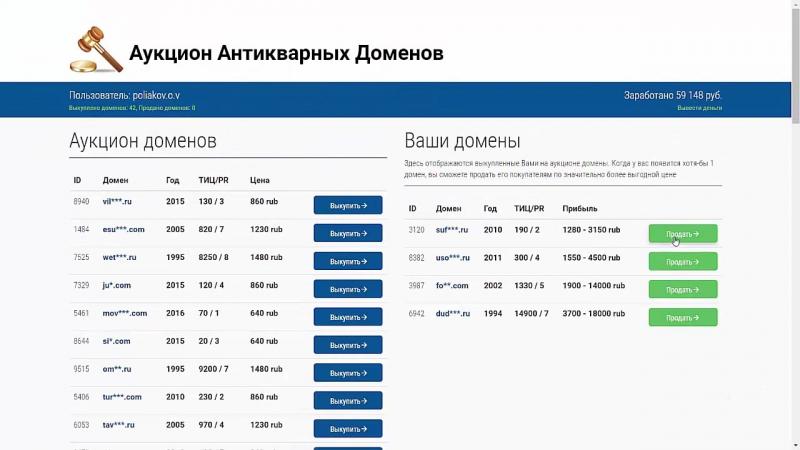 СтопЛохотрон или Зароботок на доменах (Аукцион доменов)