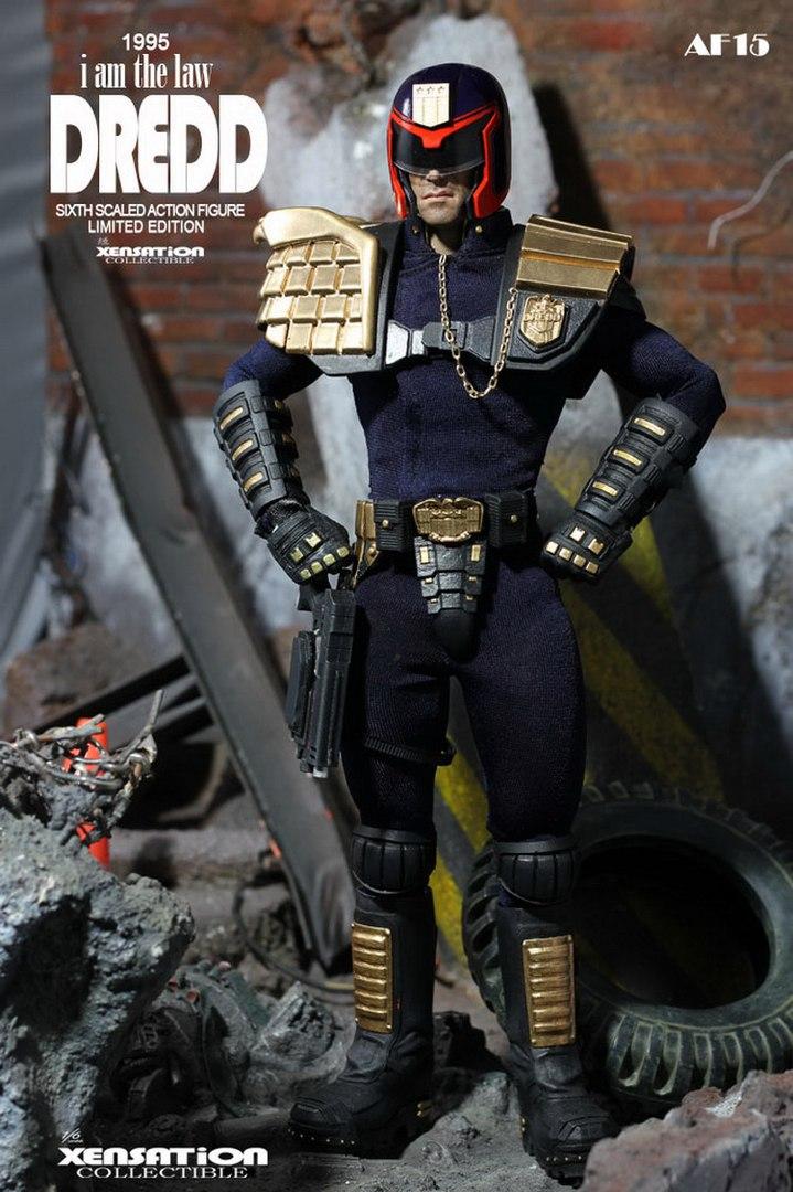 Рубрика Круто но покупать я это конечно не буду - Коллекционная фигурка Judge Dredd