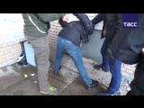 Кадры задержания террористов в Санкт-Петербурге