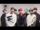 [VK][180119] MONSTA X message @ K-pop Knight Concert
