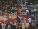 Баскетбол. СССР-США. Финал. XX летняя Олимпиада. 1972