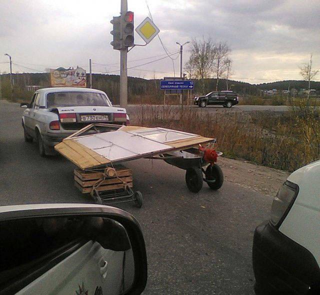 Это могло произойти только в России: забавные фотографии