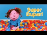 Super Duper Ball Pit _ Learn About Shapes #2 _ Square, Diamond, Circle, Heart