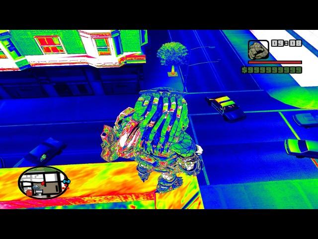 PREDADOR 2018 PREDATOR THERMAL VISION MOD TESTE GTA SA FULL HD 1080p