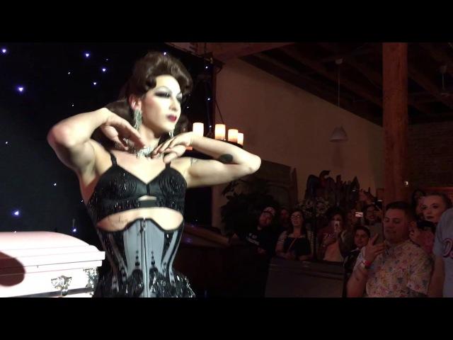 Katya's Funeral Bday Party - Violet Chachki