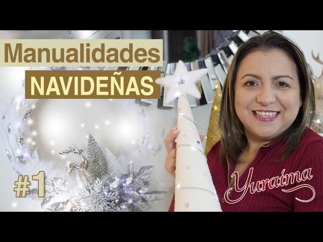 Como hacer manualidades navideñas 🎄 DIY - Yuraima Salcedo