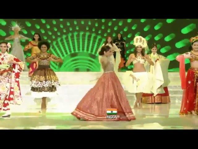 Miss World Manushi Chhillar Performing Live On Nagada Sang Dhol At Miss World 2017 Finals