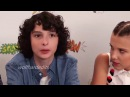 Every Fillie Moment at San Diego Comic Con 2017[Finn Wolfhard and Millie Bobby Brown]