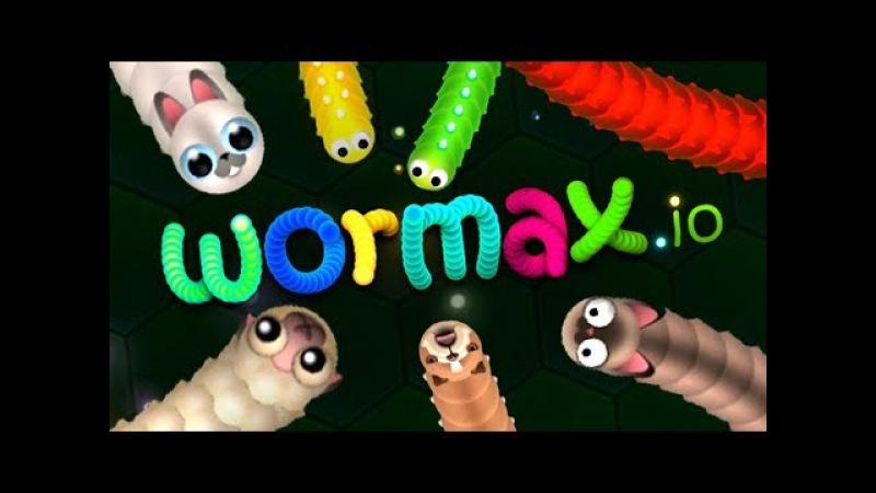 Cтрим по игре: Wormax.io 4