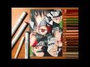Speed Drawing - Sharingan Users (Naruto Shippuden) [HD]