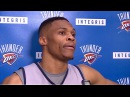 Russell Westbrook Pregame Intreview | OKC Thunder | Nov 3rd