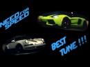 NFS 2015. Ps4 Best Tune! Лучшие настройки для гонок и дрифта.