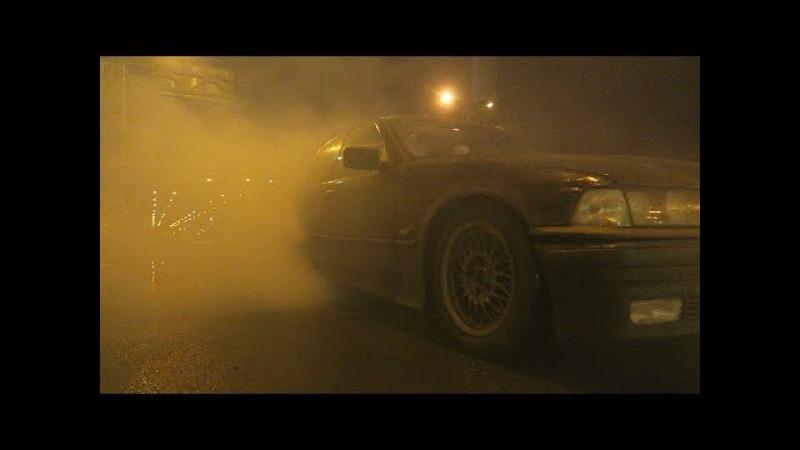 ДРИФТ ПО ГОРОДУ ОТ ПЕРВОГО ЛИЦА! - BMW E36 (МАТРЕШКККА)