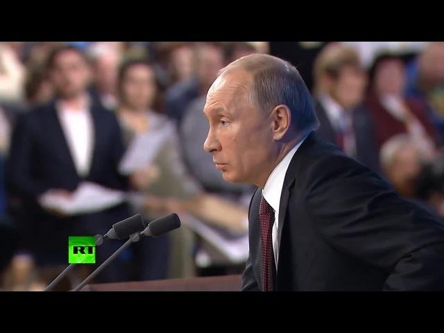 Путин толкает скрепы