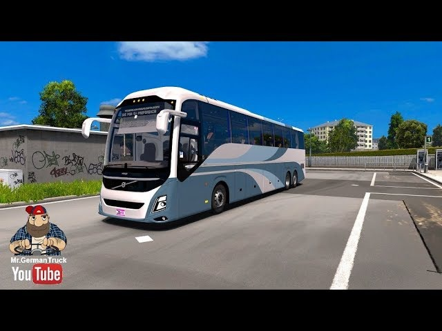 Euro Truck Simulator 2 (Version 1.28; 2012) | Volvo B11R/9800 with FWD Config)!