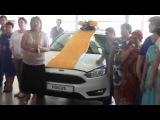 G-TIME CORPORATION 09.08.2017г. Вручение Ford Focus партнеру из Челябинска