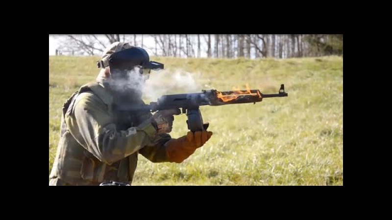 легендарный АК-47 против американского М-16 (the legendary AK-47 vs American M16)