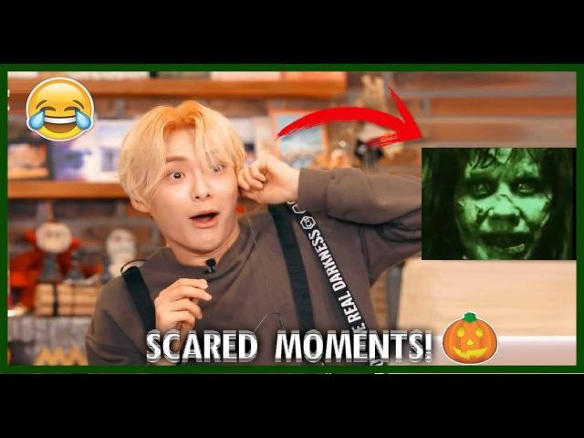 KPOP IDOLS SCARED MOMENTS PART 3 BTS EXO BIGBANG VIXX