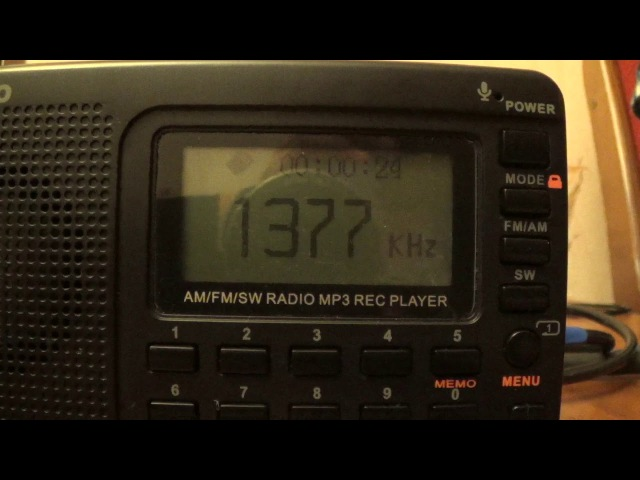 1377 kHz-China National Radio-Xingyang City