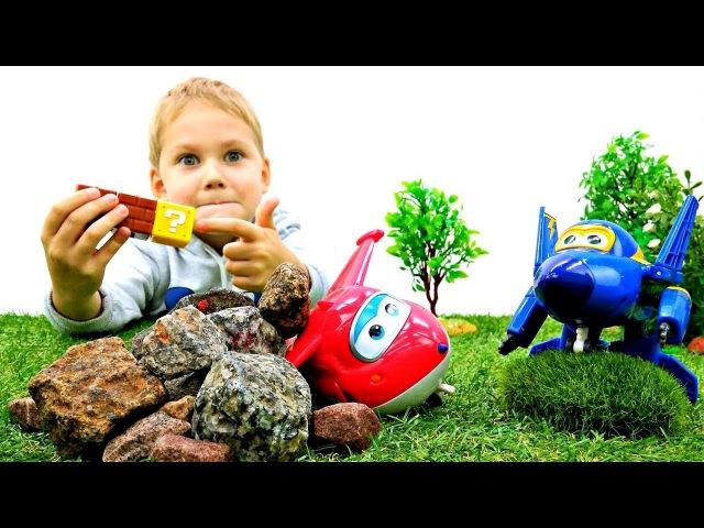 Самолетики СуперКрылья спасают ДЖЕТТа ✈ Игрушки ТРАНСФОРМЕРЫ Мультики Для сам...