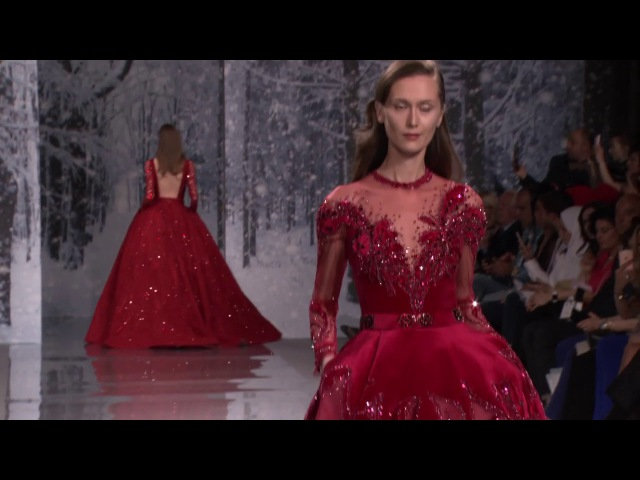 The Snow Crystal Forest Ziad Nakad Haute Couture F W 17 18 show