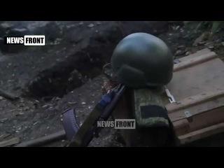 ДНР БТГ Сомали ведет бой в аэропорту Донецка 1 07 2015