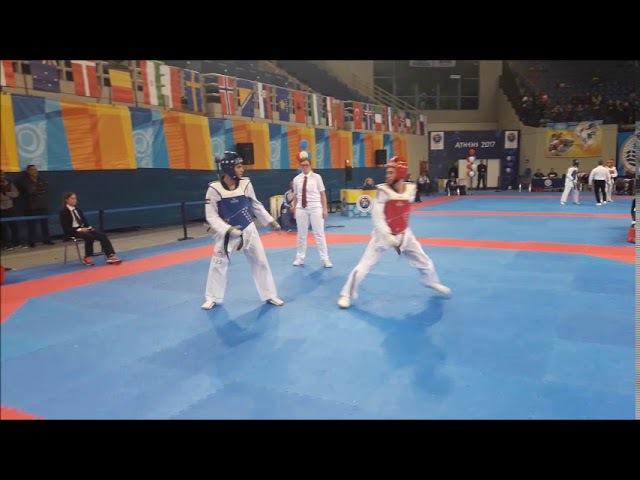 Greece Open G1 - Ahmad Abughaush (JOR) VS Alexandros Kanariou (GRE)