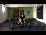 Monster Kettlebell cleans80kg,68kg,60kg,48kg+2 x 68kg presses.
