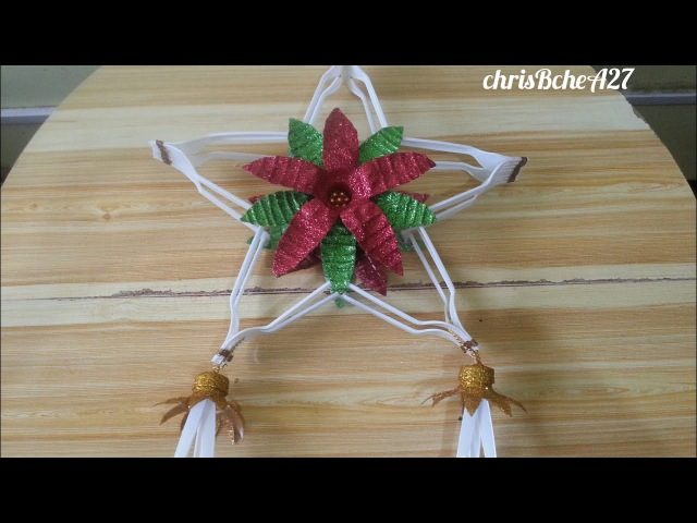 DIY 72 Christmas Lantern / Parol Made Of Recycled Plastic Fork 2