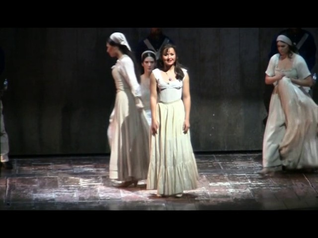 Виктория Канаткина — мюзикл «Зорро», часть 2