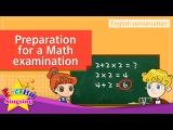 9. Math examination preparation (English Dialogue)