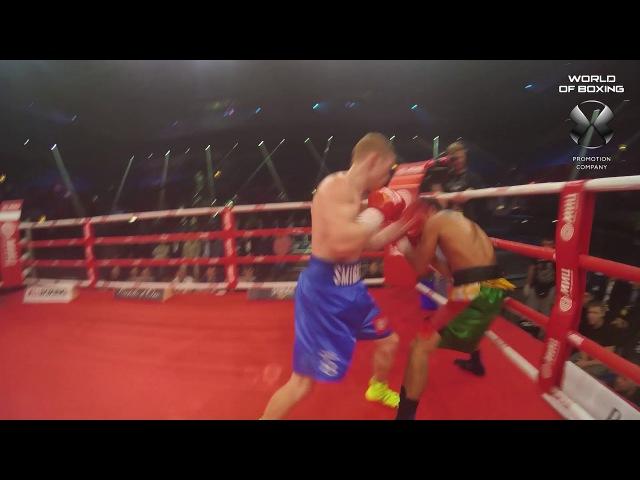 Евгений Смирнов - Джон Гемино | Referee cam | Мир бокса