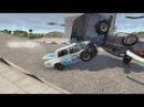 Мультик про машинки в игре BeamNG.Drive Большая подборка аварий 12 Бьём тачки в хлам