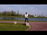 Я думал, что знаю всех скипперов. Оказывается нет Встречайте Юсуке Фунаки. Jump Rope in Essen, Germany by Yusuke Funaki
