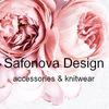 SAFONOVA DESIGN knitwear & accessories