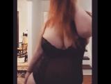 Жаркий танец в сногсшибательном белье от London Andrews , Big boobs , BBW , curvy hot , old big ass , i love booty whore milf