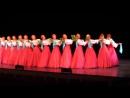 Завораживающий скользящий шаг русского народного танца