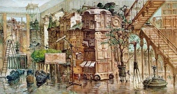 Художник Владимир Тарасенко родился в городе Харькове в 1967 году. В 1990 году окончил Харьковский колледж искусств.