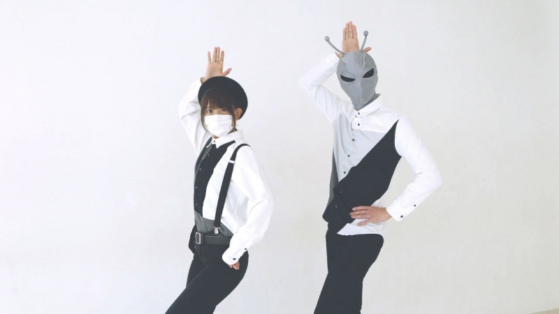 「UFO(Synth Rock Cover)」歌って踊ってみた。ココル原人とタイ焼き屋 sm32656113