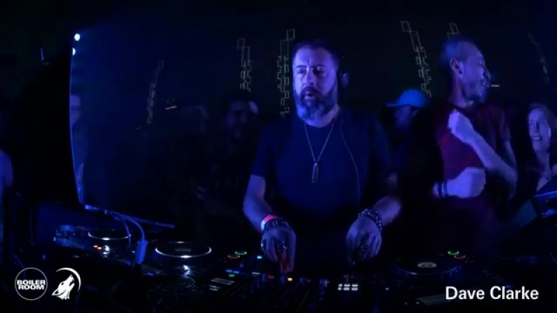 Dave Clarke @ Boiler Room x Eristoff Into The Dark DJ Set, Paris 22.02.2018
