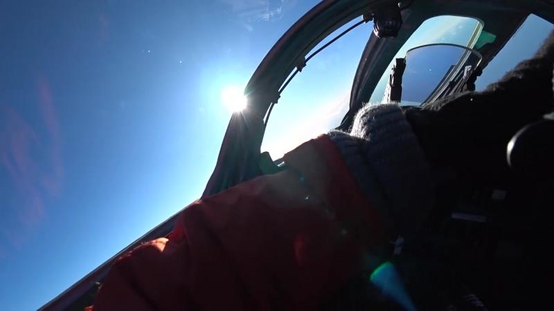 Условный воздушный бой экипажей истребителей МиГ 31на сверхзвуковых скоростях в стратосфере