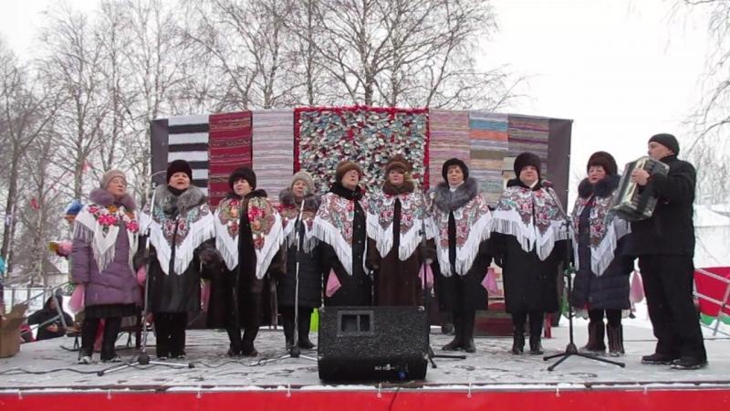 Ой снег - снежок Слова В. Бокова Музыка Г. Пономаренко. Исполняет вокальная группа Сугревушка г.Каргополь.