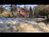 В посёлке Железнодорожный затопило гостевой комплекс «Старая мельница»