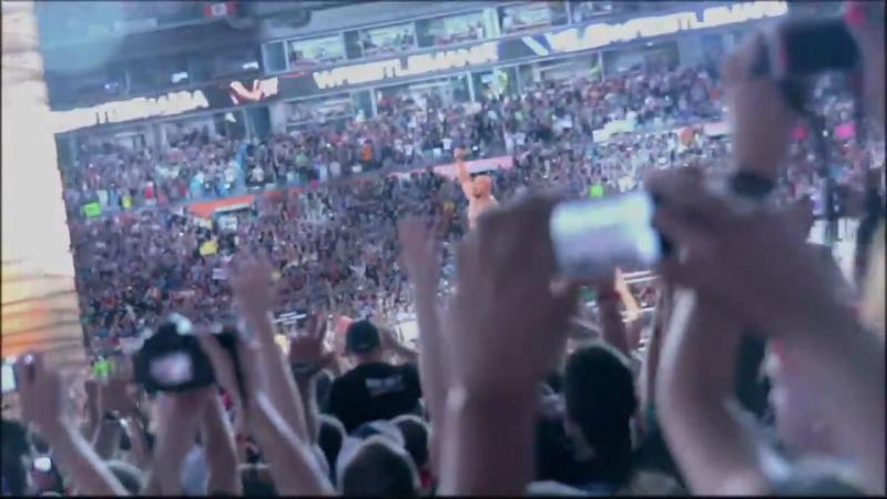 Промо WrestleMania 29 John Cena vs The Rock