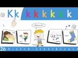 31. Kk Phoneme Chant - Think Read Write by ELF Learning