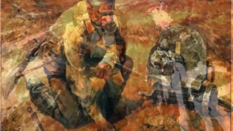 Защитники Отечества на картинах художников
